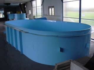 Sleva na plastový bazén  5 x 2,5 x 1,2 m
