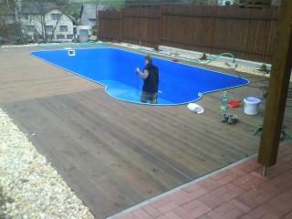 Svařování plastů - bazény