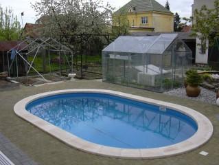 Plastové vložky bazénů, filtrace a čištění