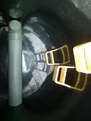kanalizační šachta - uvnitř