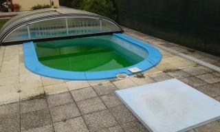 servis bazénu - čištění