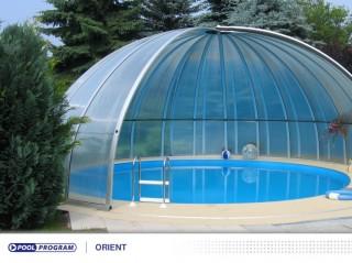 kupolovité zastřešení bazénů