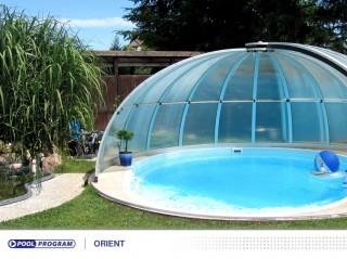 zastřešení kruhových bazénů