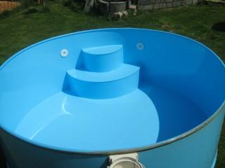 Zaskázková výroba - svařované bazény z plastu