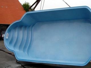 laminátové bazény - osazování