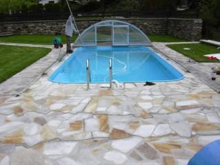 zazimování, čištění a servis bazénů